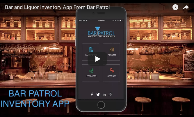 Bar & Liquor Inventory App From Bar Patrol