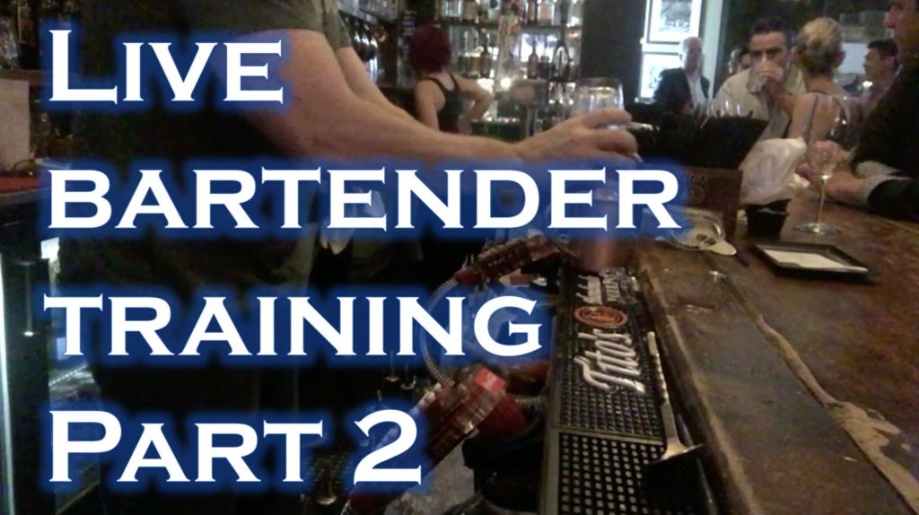 become a bartender